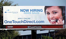 OneTouchDirect.com billboard