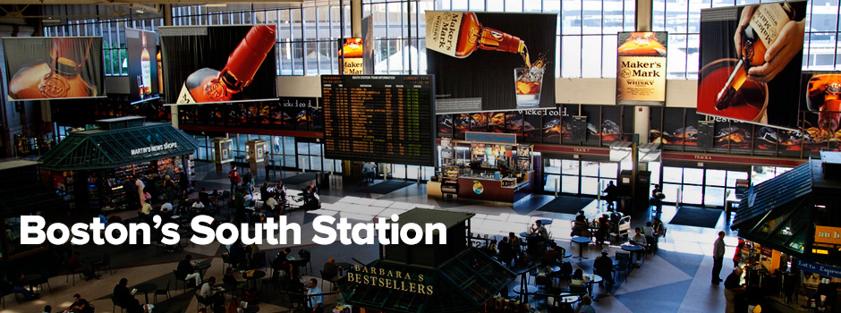 New advertising opportunities in Boston's South Station