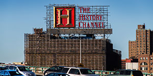 History Channel Billboard NYC Site 020166