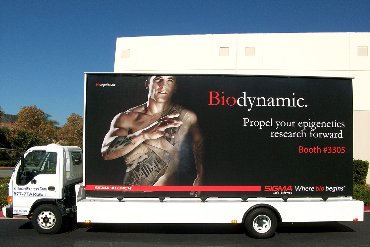 Using A Mobile Billboard To Support Product And Convention Booth