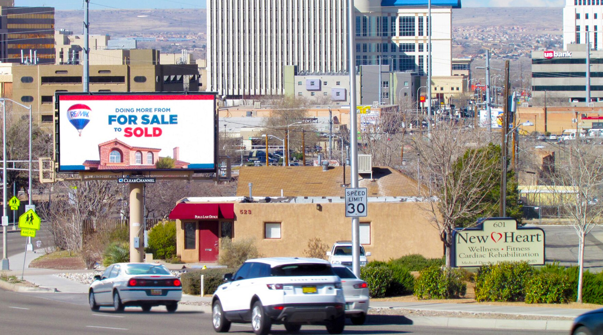 Albuquerque Billboard and other Outdoor Advertising